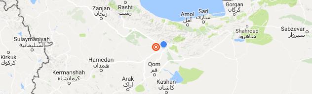 زلزله 5.2 ریشتری تهران را لرزاند