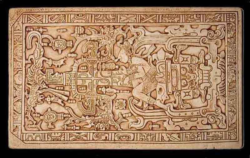 شاه پاکال شاه مایاها