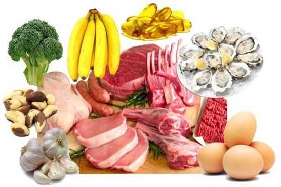 جدول میزان کالری مواد غذایی